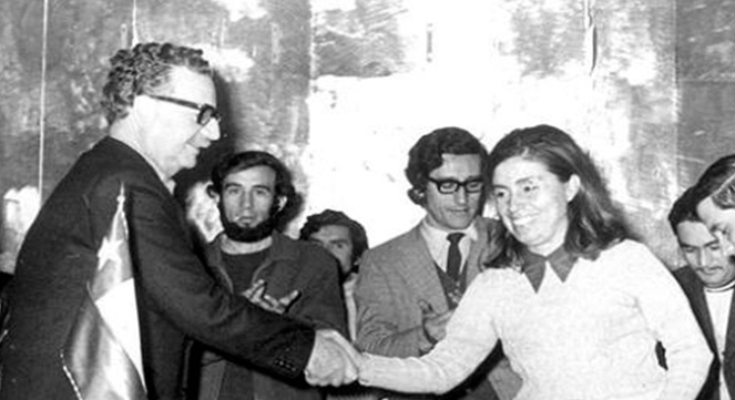 El Gobierno De Allende Fue Antes Que Nada La Expresion De Valores Humanistas Gladys Marin